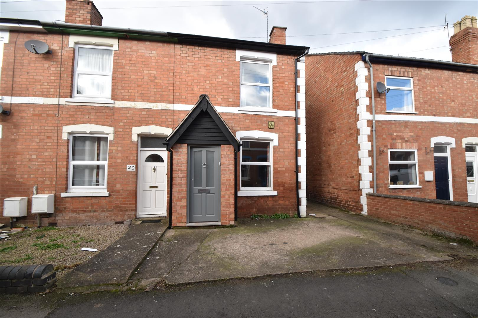 2 Bedrooms End Of Terrace House for sale in Blakefield Road, Worcester